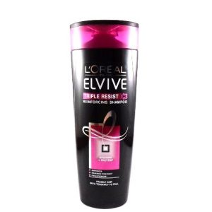 L'Oreal Paris Elvive Triple Resist X3 Shampoo – 400ML