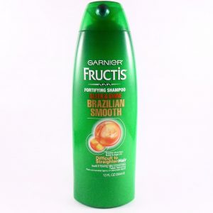Garnier Fructis Brazilian Smooth Shampoo -400ML