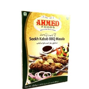 Ahmed Foods Seekh Kabab BBQ Masala-50 grams.