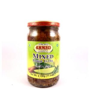 Ahmed Foods Mixed Pickle In Oil- 330 grams