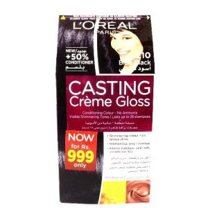 L'Oreal Paris Casting Creme Gloss No 210 Blue Black Color