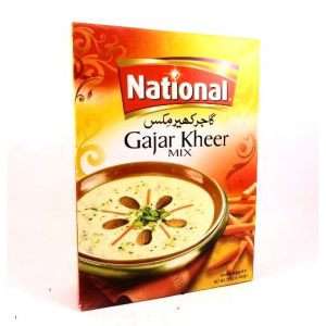 National Gajar Kheer Mix-155 grams.