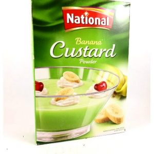 National Banana Custard Powder-300 grams