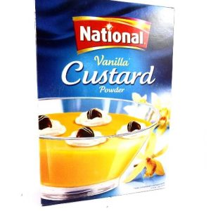 National Vanilla Custard Powder-300 grams
