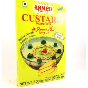 Ahmed Foods Banana Custard Powder-300 grams
