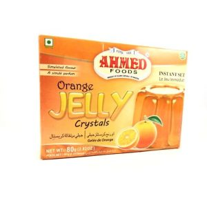 Ahmed Foods Orange Jelly Crystals -80 grams