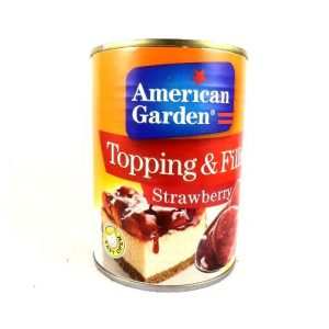 American Garden Topping & Filling Strawberry -595 grams