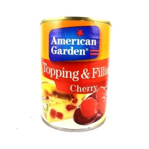 American Garden Topping & Filling Cherry -595 grams