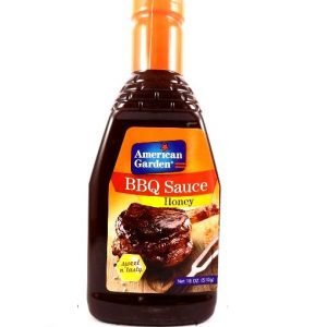 American Garden BBQ sauce Honey-510 grams