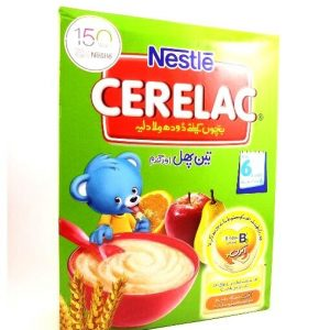 Nestle Cerelac 3 Fruits & Wheat-350 grams