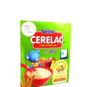 Nestlé Cerelac 3 Fruits & Wheat-175 grams