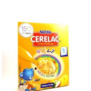 Nestlé Cerelac Yellow Fruits-175 grams