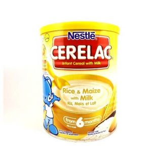Nestlé Cerelac Rice & Maize With Milk-400 grams