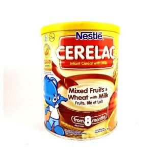 Nestlé Cerelac Mixed Fruits & Wheat With Milk-400 grams