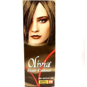 Olivia Hair Color No.12 Golden Blonde