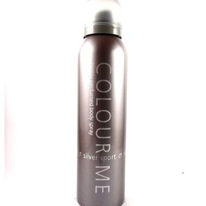 Colour Me Silver Sport Body spray-150ml