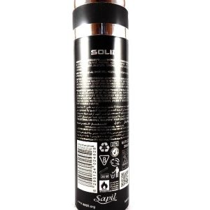 Sapil Solid Black For Men Deodorant-200ml