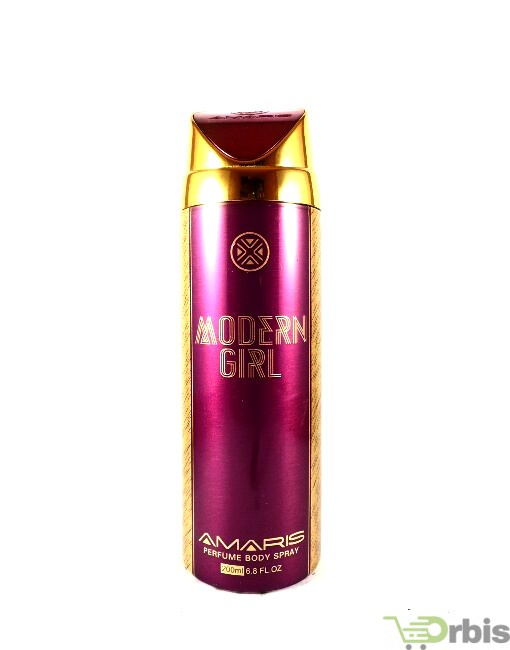 Amaris Modern Girl Body Spray-200ml