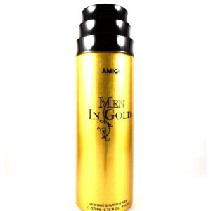 Amigo Men In Gold Body Spray For Men-200ml