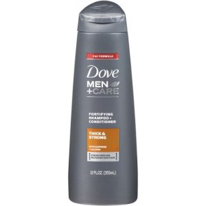 Dove Men+Care Thick & Strong Shampoo-355ML