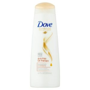 Dove Anti-Frizz Oil Therapy Shampoo-355ml