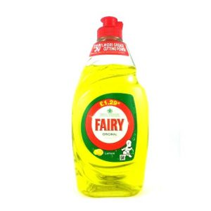 Fairy Lemon Dishwash Liquid-433ML