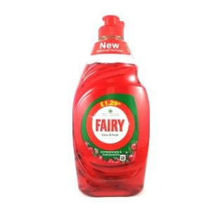 Fairy Clean & Fresh Dishwash Liquid-433ml