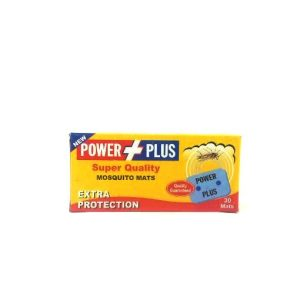 Power Plus Super Quality Mosquito Mats-30mats